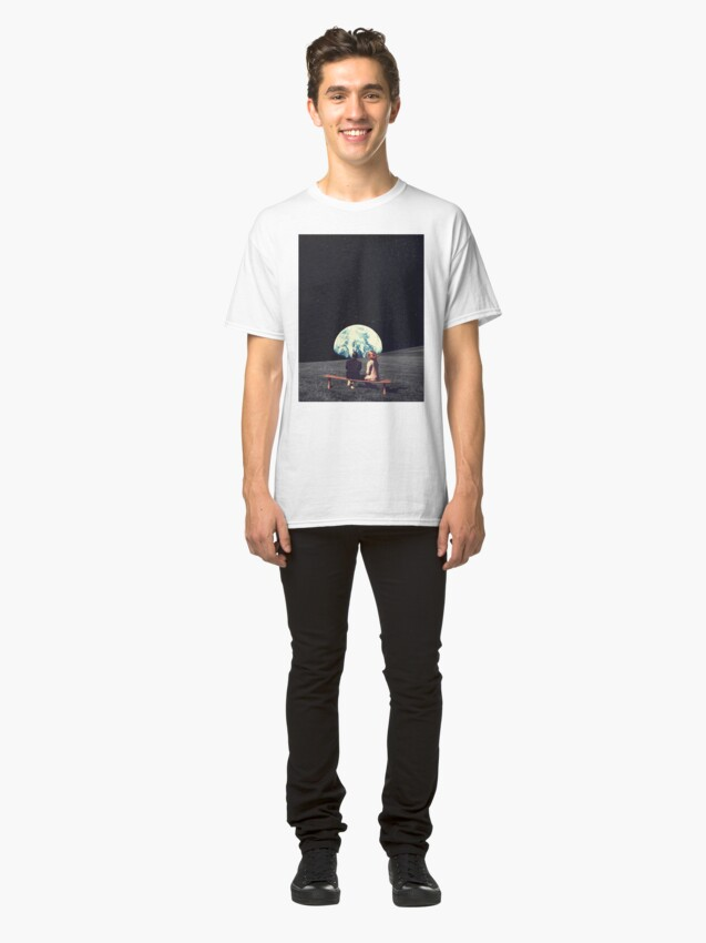 Alternate view of We Used To Live There Classic T-Shirt