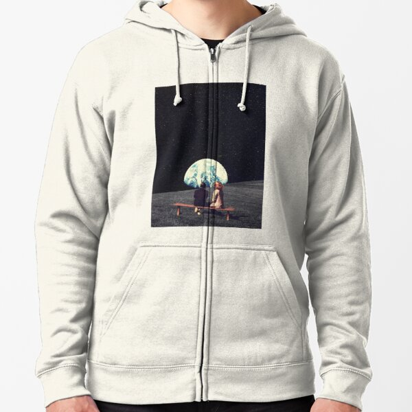 We Used To Live There Zipped Hoodie