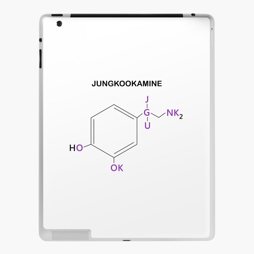 BTS Jungkook Compound Jungkookamine iPad Case & Skin