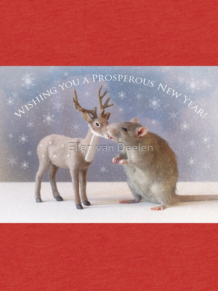 Wishing you a prosperous new year! by Ellen