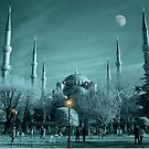 Sultanahmet Mosque Infrared by Zoe Marlowe
