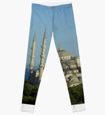 Blue Mosque Leggings