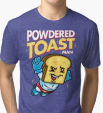 Super Toast Man Tri-blend T-Shirt