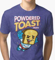 Super Toast Man Tri-blend T-Shirt