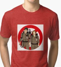 Ghostbusters Files - Mulder & Scully Tri-blend T-Shirt