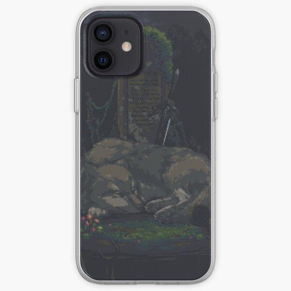 Pixel Sif dans Darkroot Garden Coque souple iPhone