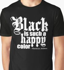 All Black Everything - White Font Graphic T-Shirt