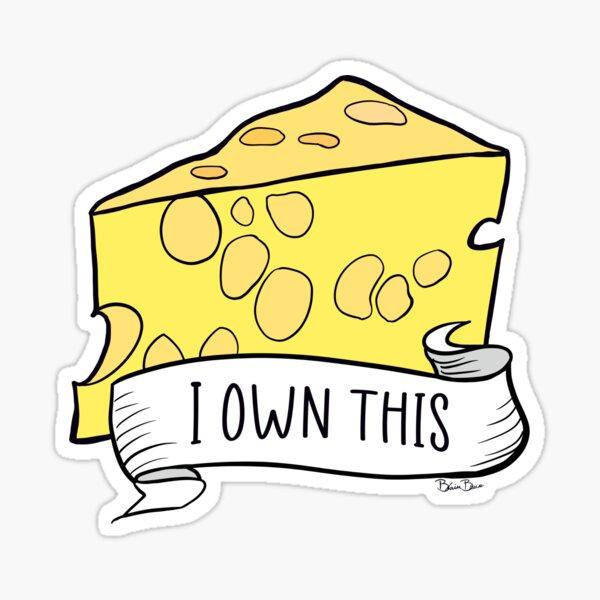 Käse, den ich besitze Sticker