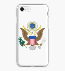 Coat of Arms of the United States  iPhone Case/Skin