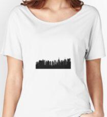 new york city skyline Women's Relaxed Fit T-Shirt
