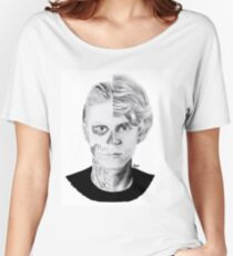 evan peters Women's Relaxed Fit T-Shirt