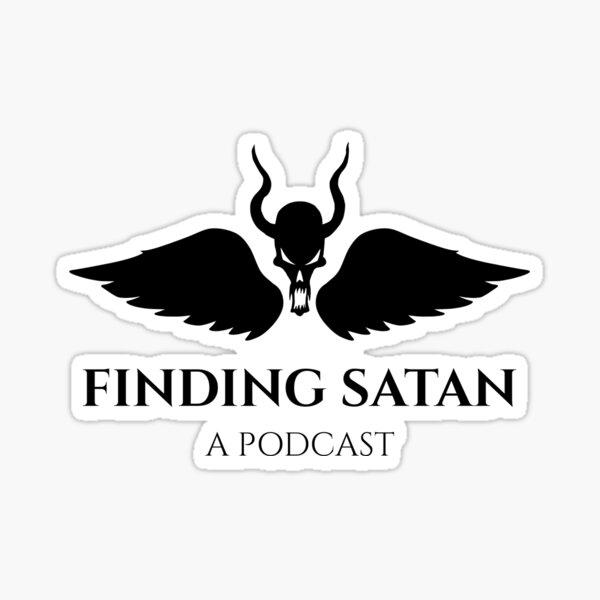 Finding Satan Large Logo Sticker