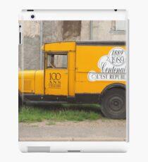 truck iPad Case/Skin