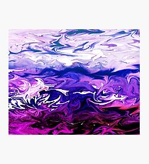 Abstract Ocean Fantasy I Photographic Print