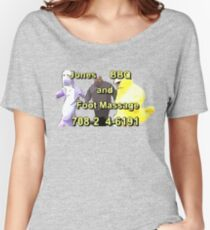 Jones BBQ and Foot Massage Women's Relaxed Fit T-Shirt