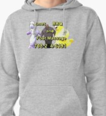 Jones BBQ and Foot Massage Pullover Hoodie
