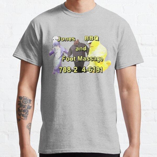 BBQ Jones et massage des pieds T-shirt classique