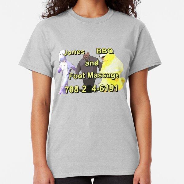 Jones BBQ and Foot Massage Classic T-Shirt