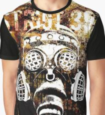 Another Steampunk / Cyberpunk Gas Mask Graphic T-Shirt