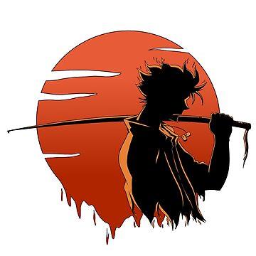 Samurai Sunset by Spardia