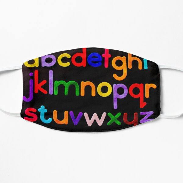 Alphabet in colours  Mask