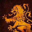 Heraldry Lion by narwen
