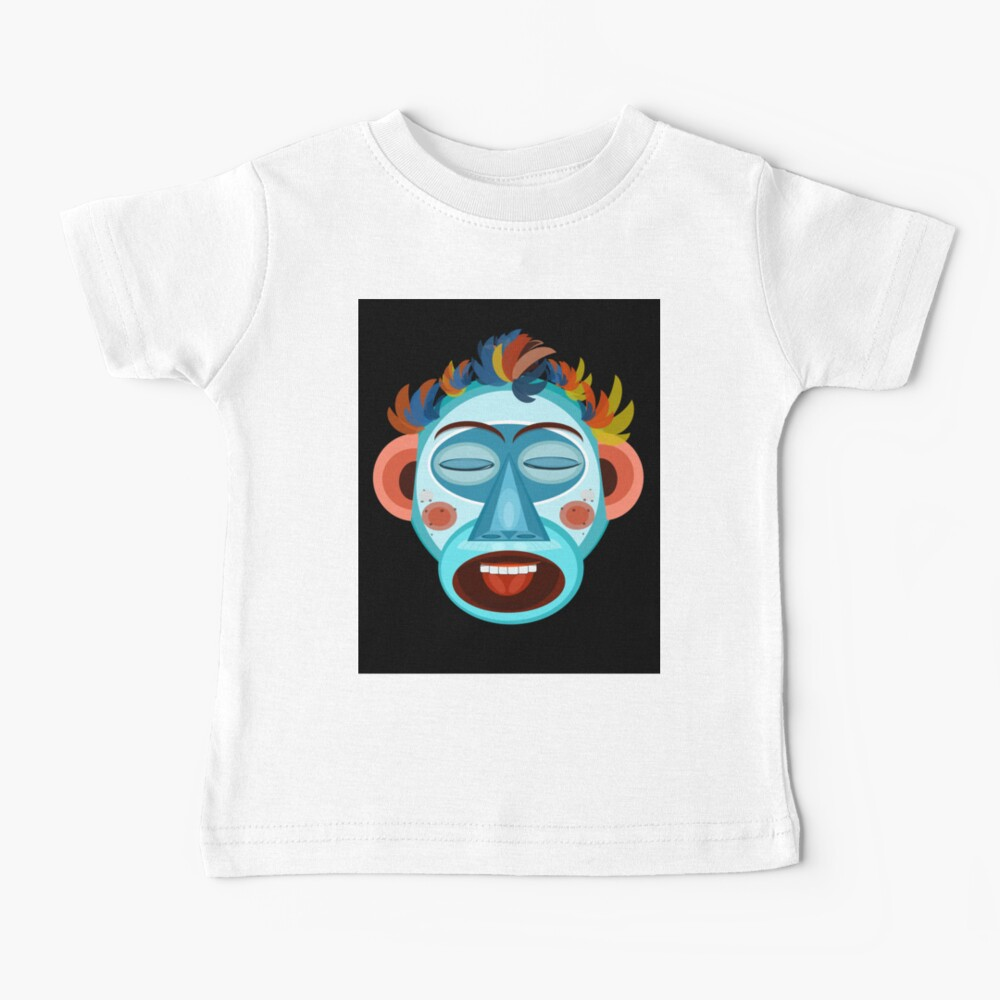 MONKEY - SINGS - Black Baby T-Shirt
