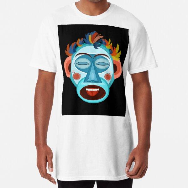 MONO - CANTA - Negro Camiseta larga