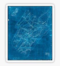 Civil War Maps 1544 Rockbridge Co Va Inverted Sticker