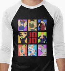JoJo's Bizarre Adventure - Heroes Men's Baseball ¾ T-Shirt