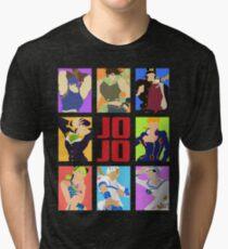 JoJo's Bizarre Adventure - Heroes Tri-blend T-Shirt