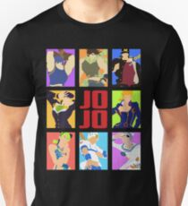 JoJo's Bizarre Adventure - Heroes Unisex T-Shirt