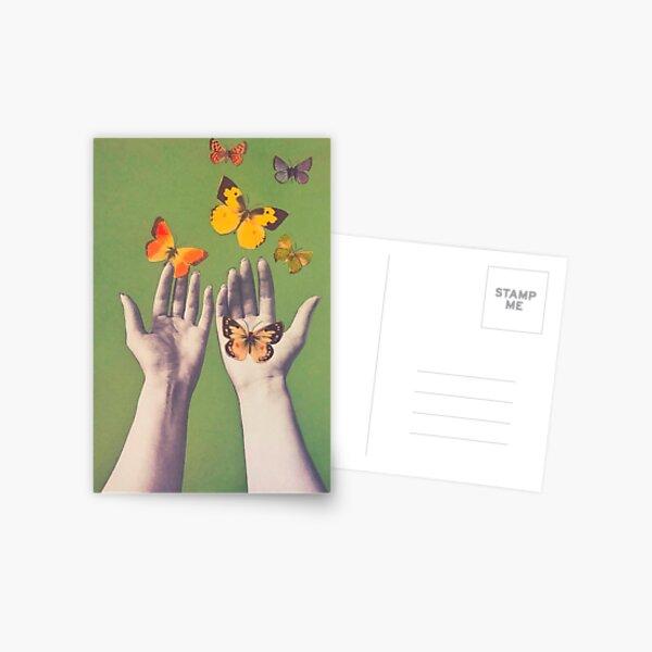 Flutter Away Postcard