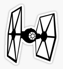 Tie fighter Sticker