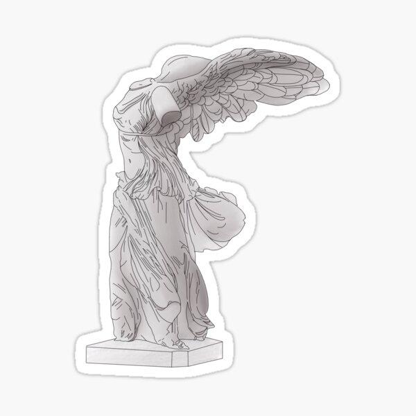 Winged Victory of Samothrace / Nike of Samothrace Sticker