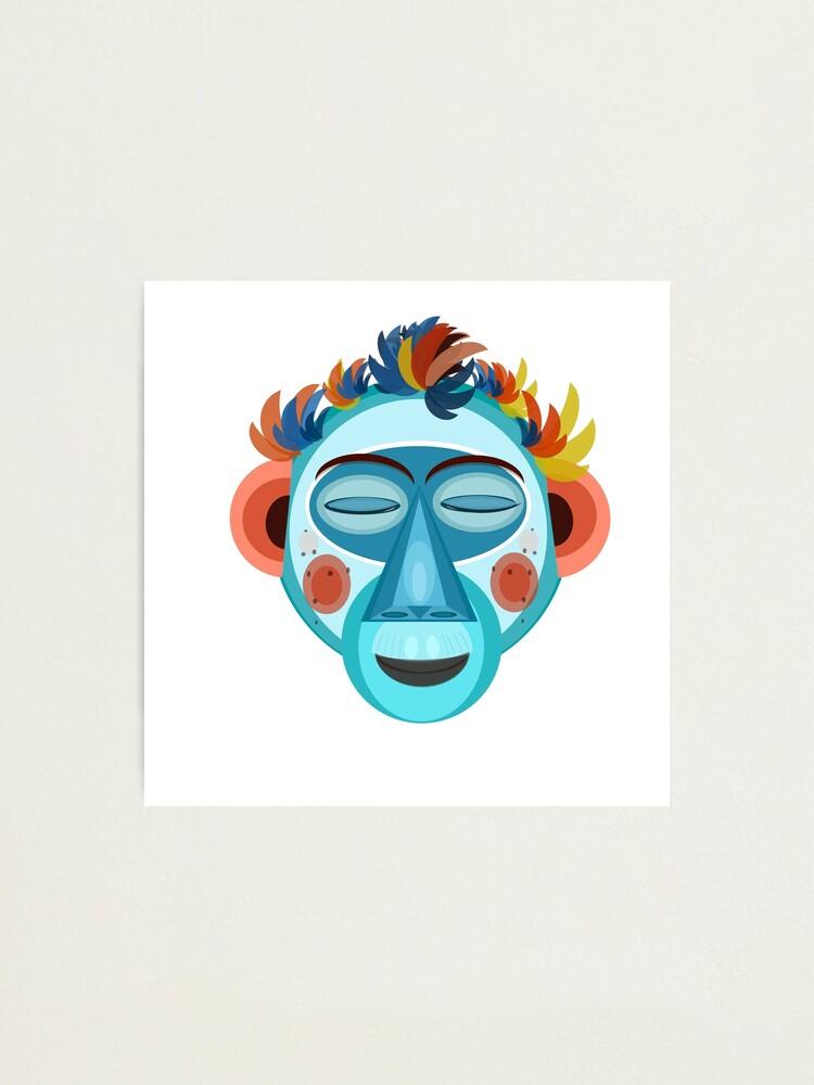 Alternate view of MOONKEY the Monkey - Meditation Photographic Print