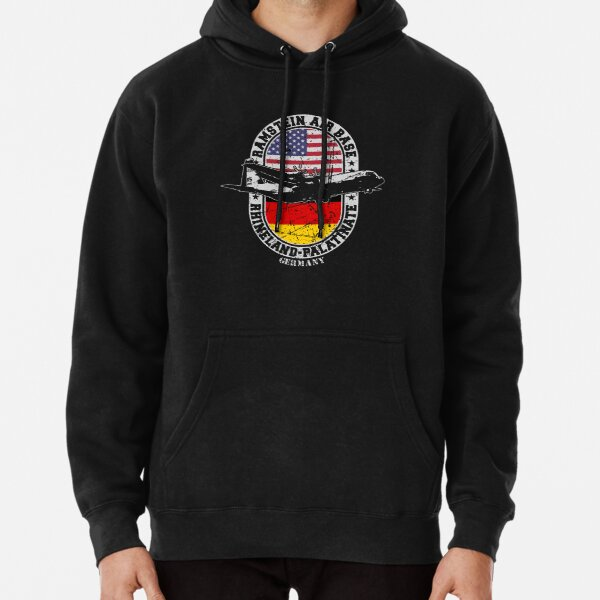 Ramstein Air Base USAF Rhineland Palatinate Germany 86th Airlift Wing Pullover Hoodie