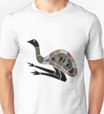 Aborigine Kunst - Emu Unisex T-Shirt