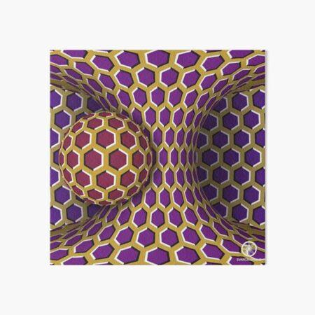 Motion Illusion Art Board Print