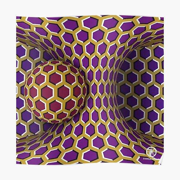 Motion Illusion Poster