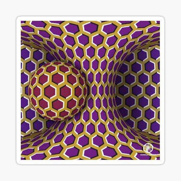 Motion Illusion Sticker