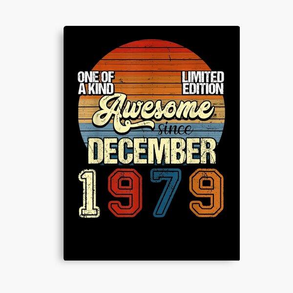 Vintage NOVIEMBRE 1979 41 años 41 cumpleaños Lienzo