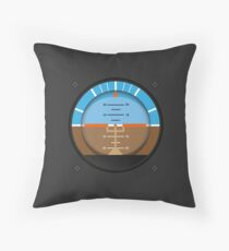 Flight Instruments Collection #1 Throw Pillow