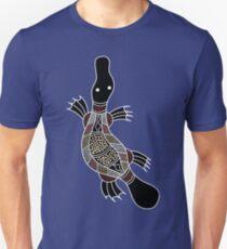Aboriginal Art - Platypus Unisex T-Shirt