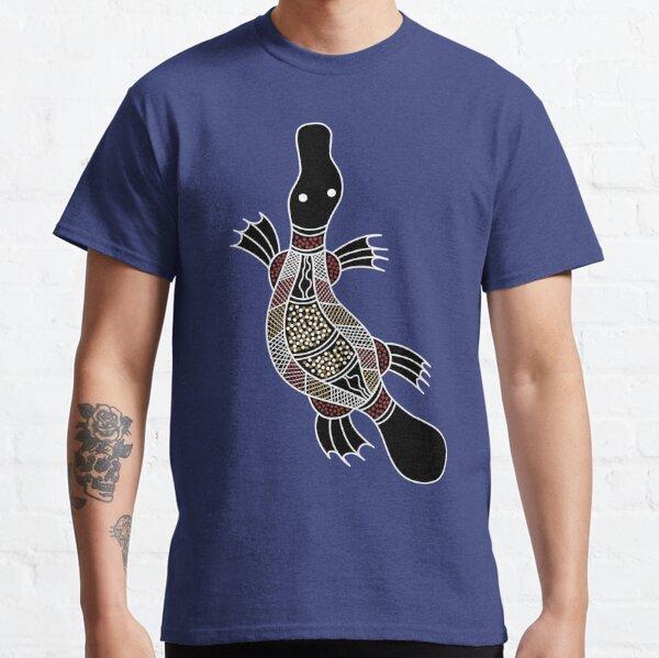 Authentic Aboriginal Art - Platypus Classic T-Shirt