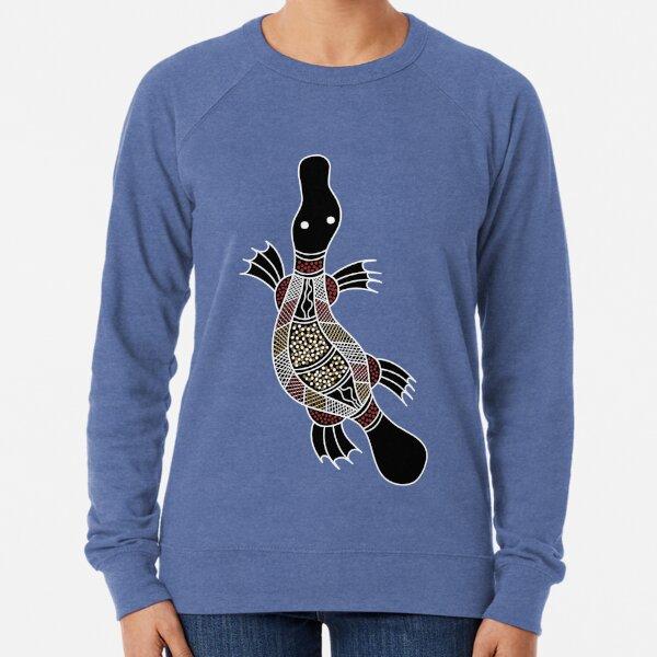Authentic Aboriginal Art - Platypus Lightweight Sweatshirt