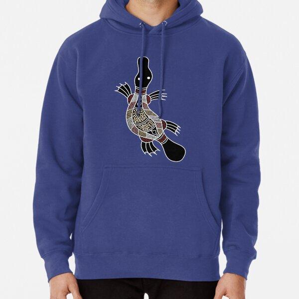 Authentic Aboriginal Art - Platypus Pullover Hoodie
