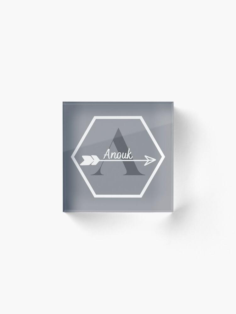 Alternate view of Anouk Acrylic Block