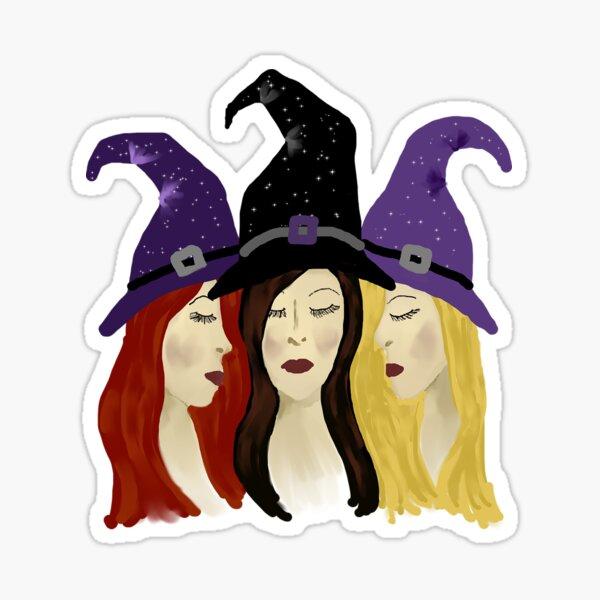 3 Witches Sticker