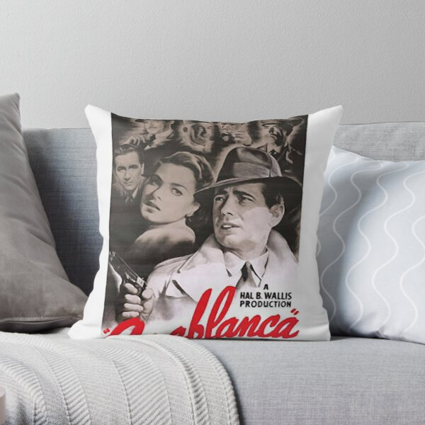 Movie Poster Merchandise Throw Pillow